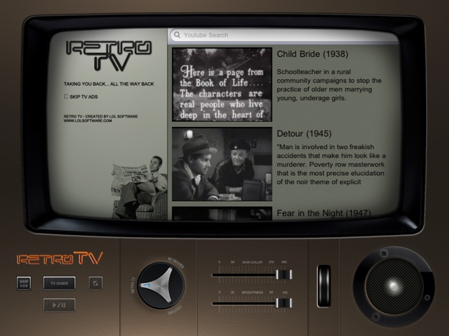 Retro TV Classic Drama Free Edition for iPad on the App Store