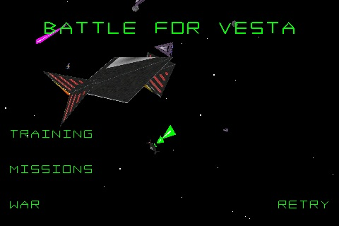 3D Space Combat: Battle for Vesta