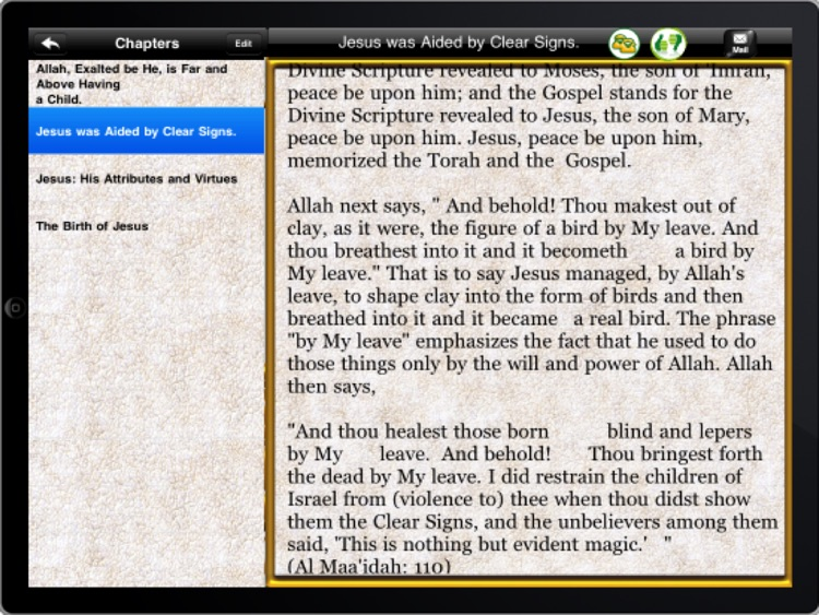 The islamic view of Jesus ( P.B.U.H ) for ipad screenshot-4