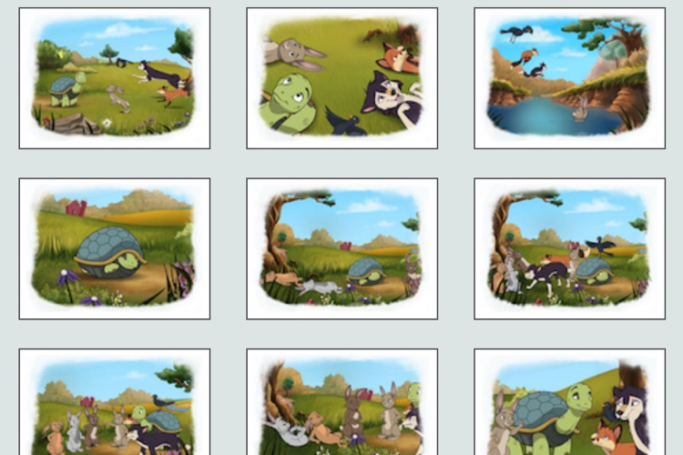 Tortoise and Hare: an Animated Aesop Children's Story Book HD screenshot-3
