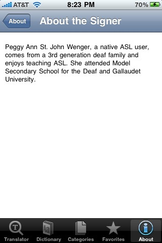 iASL (Translate English to American Sign Language) screenshot-3
