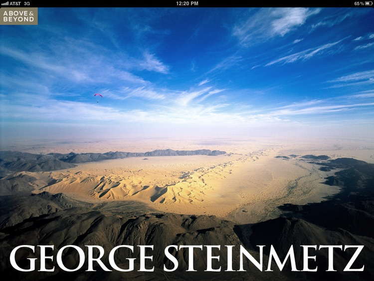 Above & Beyond: George Steinmetz