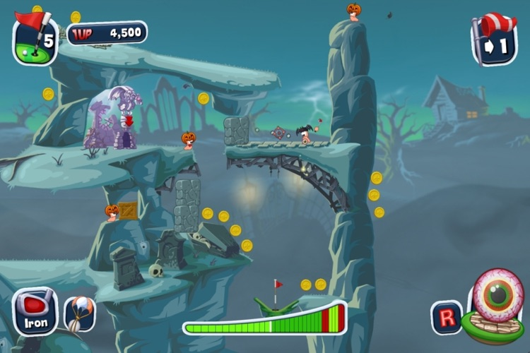 Worms Crazy Golf screenshot-1