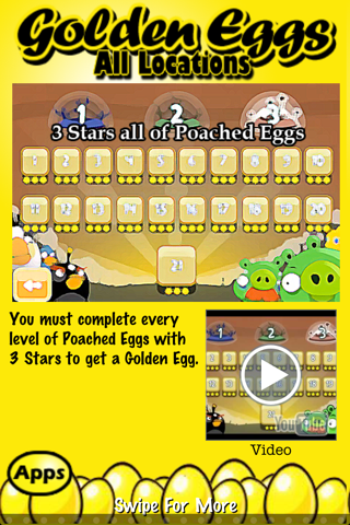 download Free Golden Eggs for Angry Birds ~ An easy guide and walkthrough of the hidden golden egg locations in Angry Birds apps 0