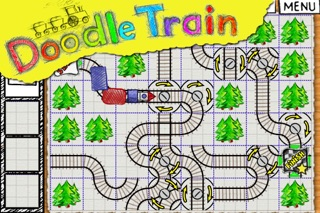 Doodle Train - Railroad Puzzler screenshot two