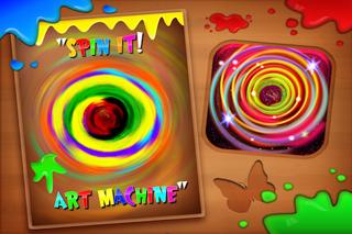 Spin It! Art Machine Lite screenshot two