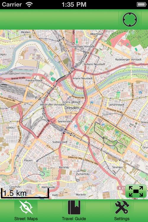 Dresden Offline Street Map