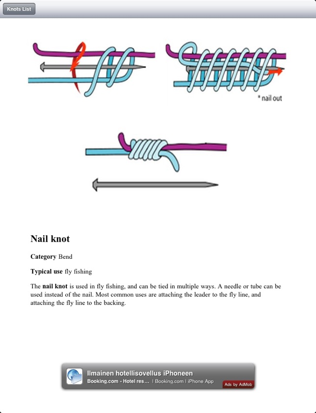 Knots Guide for iPad on the App Store
