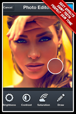 Photo Editor Pro+ 2 Free: The Best Portrait Effect Editor for Facebook screenshot 1