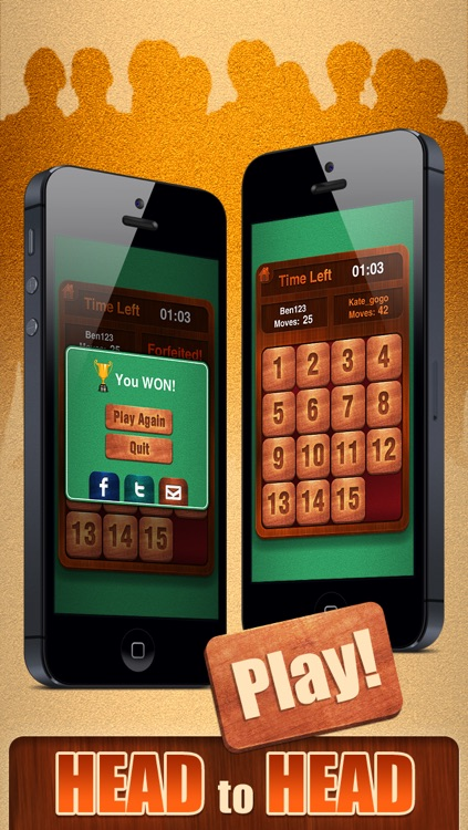15 Puzzle Challenge. Free classic sliding tiles game!