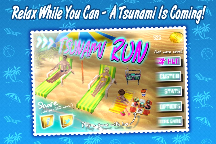Tsunami Run - The Adventure Running Game