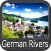 German Rivers - GPS Map Navigator
