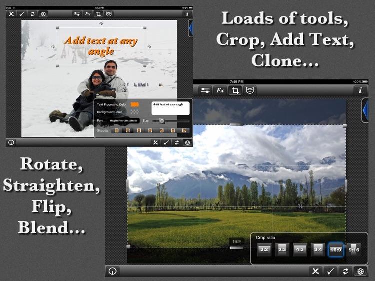 PhotoWizard-HD Photo Editor screenshot-4