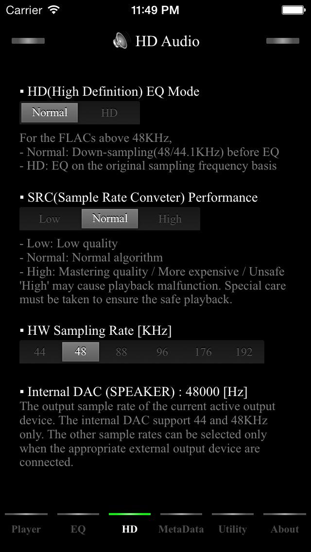 AmpliFlac Free - HD Flac Player-2