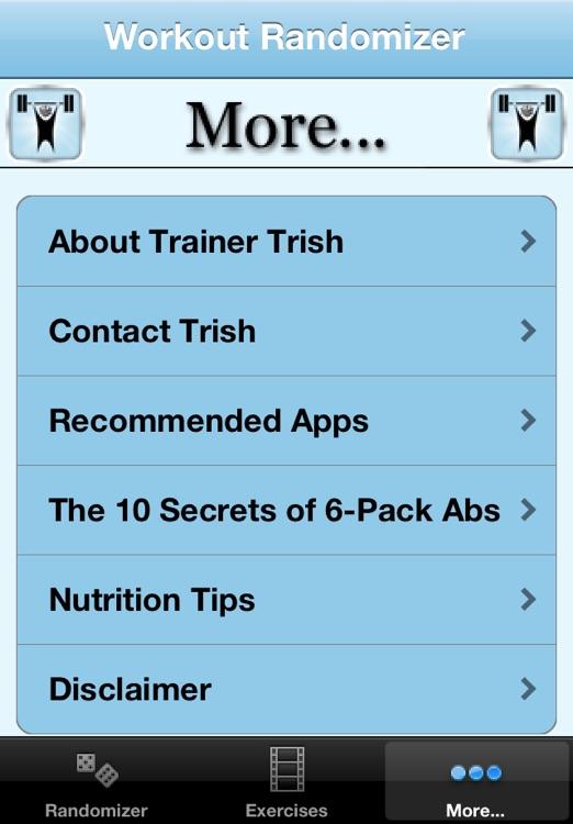 Workout Randomizer screenshot-3