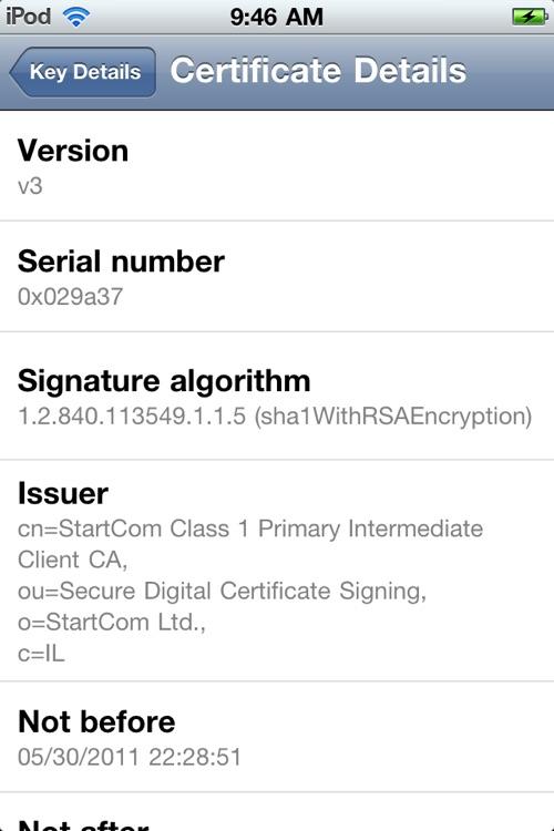 Secure Email Reader