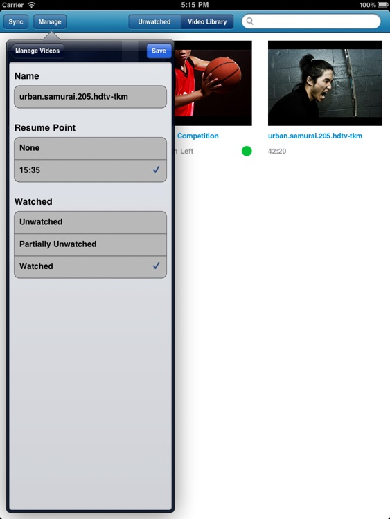 Remux MKV Player for iPad – Play Remuxed Xvid a... screenshot-4