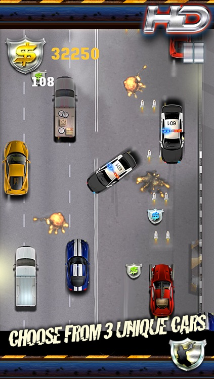 Auto Smash Police Street - Fast Driver Chase Edition screenshot-3