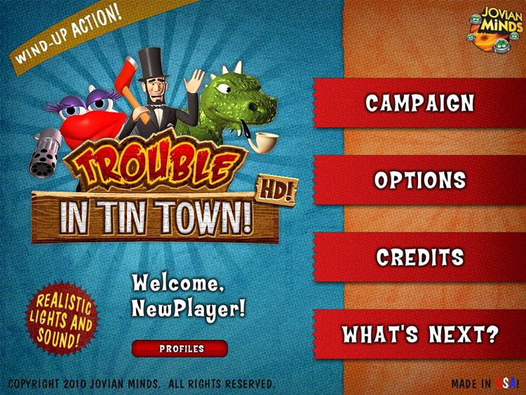 Trouble in Tin Town HD