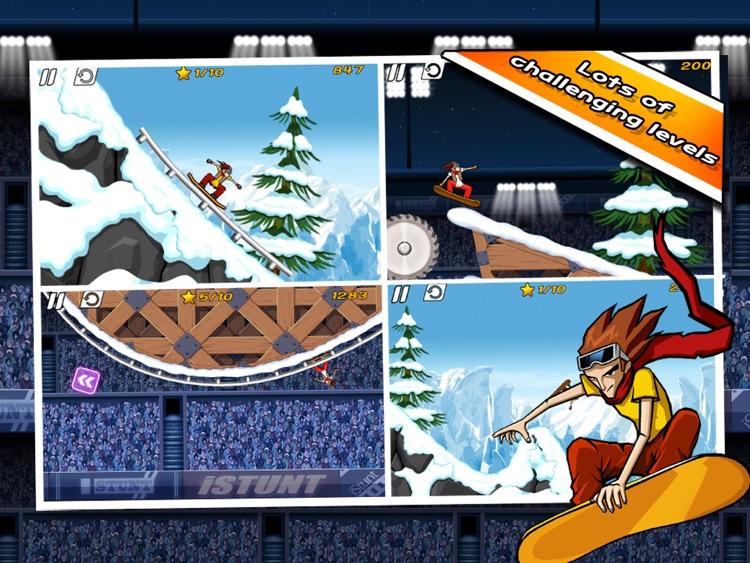 iStunt 2 HD - Snowboard screenshot-4