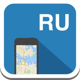 Russia (Russian Federation) offline map, guide, weather, hotels. Free GPS navigation.