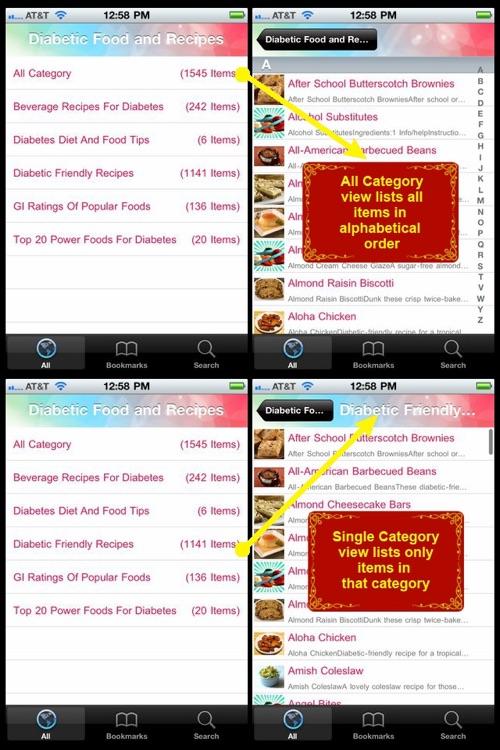 Diabetic Food & Recipes