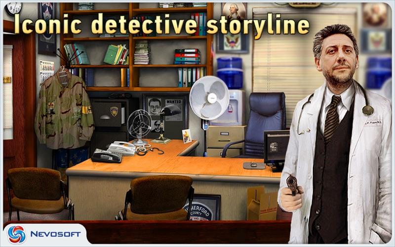 Mysteryville 2 lite: hidden object crime investigation screenshot 1