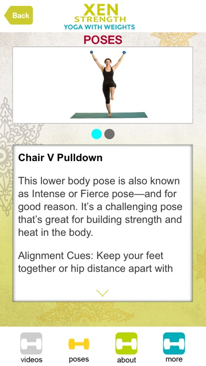 Xen Strength - Yoga with Weights screenshot-3