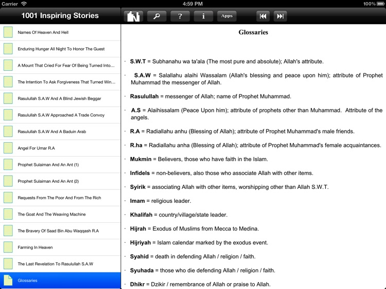Muslim Book Pack for iPad screenshot-4