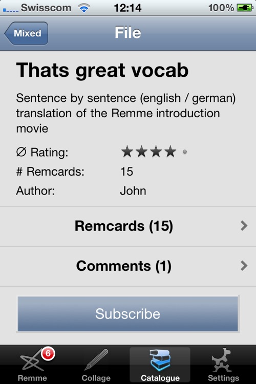 Remme Flashcards
