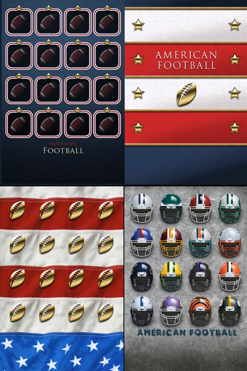 American Football Icon Skins screenshot-3