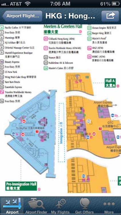 Hong Kong Airport + Flight Tracker Premium screenshot-4