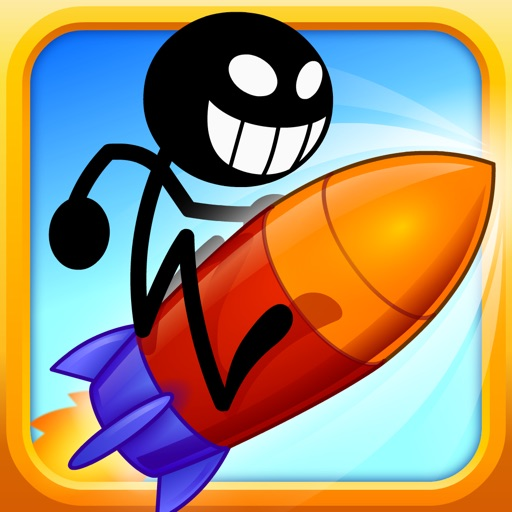 Mega Dangerous Stickman – Amazing Swipe Jump Stick Man Endless Road Trip