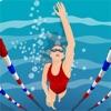 標準の水泳