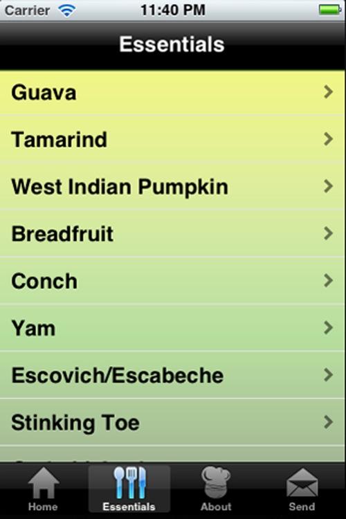 Jamaican Recipes screenshot-3