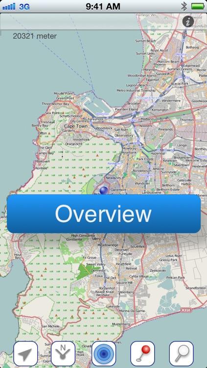 Cape Town Offline Map screenshot-4