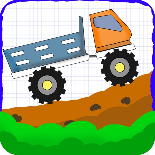 A Doodle Hill Trucker Delivery - Free Racing Game