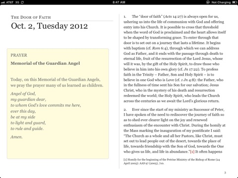 Year of Faith Novena 2012 by Archdiocese of Baltimore on