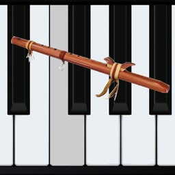 Wood Flute Piano