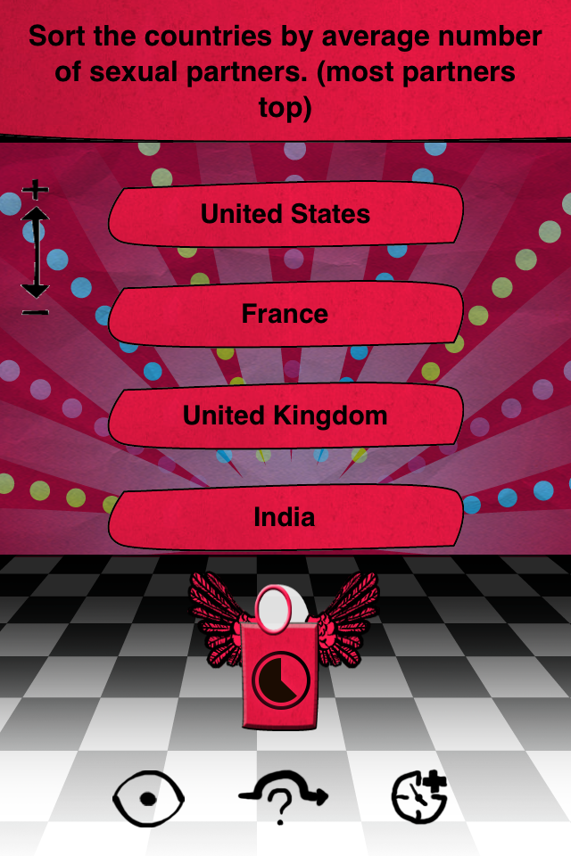 Sex Trivia - for adults only! Screenshot