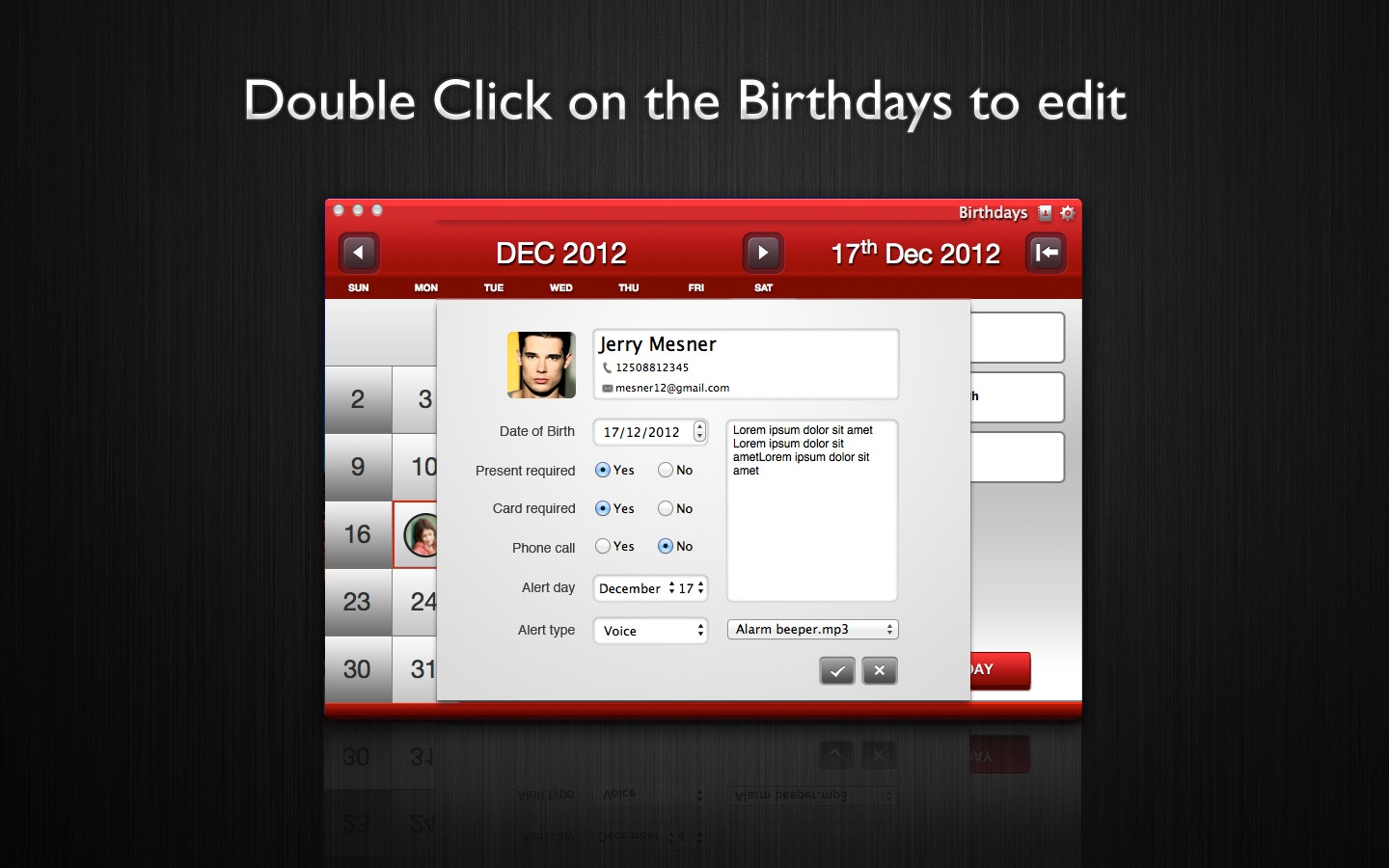 ‎Birthdays on the Mac App Store