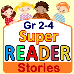 Reading Comprehension - Grade 2, 3, 4 - Stories - Super Reader