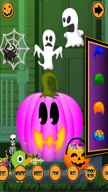 Happy Halloween Pumpkin Maker FREE screenshot-4
