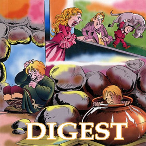 Folk Tales of British Isles Digest (Entertaining stories from British Isles  -  Amar Chitra Katha TINKLE Comics