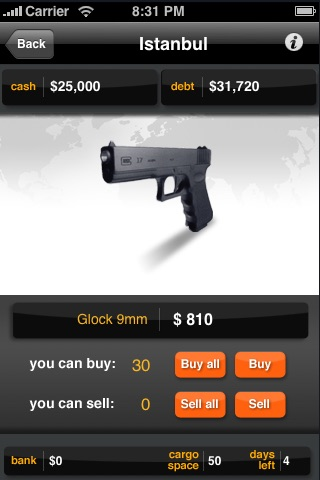 Gun Run Lite screenshot-4