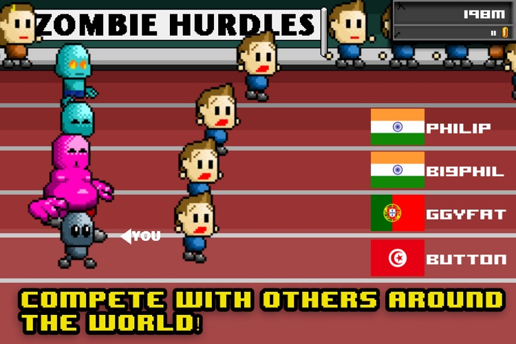 Zombie Hurdles Lite screenshot-0