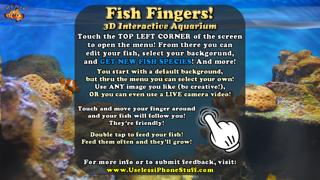 Fish Fingers! 3D Interactive Aquariumのおすすめ画像4