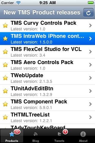 Screenshot of TMSSoftwareNews