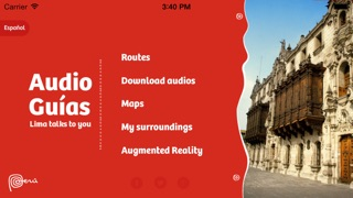 Lima Audioguides app image