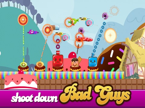 Candy Land Defense - Fun Castle of Fortune Shooting Game FREE-ipad-1